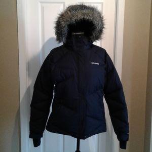 Columbia omni-heat lay 'd' down puffer coat.